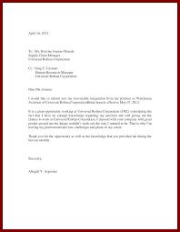 16 sample of simple resignation letter sendletters info
