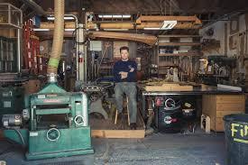 wood shop an exclusive look inside nick offerman s woodshop vanity fair
