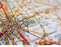 udine italy map udine aerial stock photos udine aerial stock images alamy