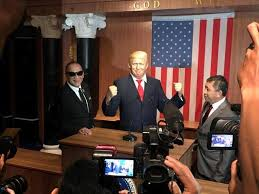 there u0027s now a donald trump wax figure at a malaysian museum