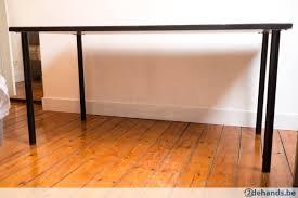 bureau 120x60 zwarte moderne tafel bureau 120x60 cm perfecte staat te koop