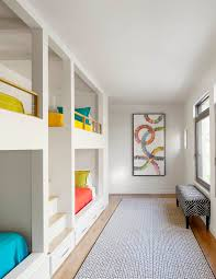 Built In Bunk Beds Kids Contemporary With Shared Bedroom Loft Beds - Kids built in bunk beds