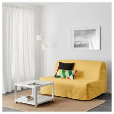 himmene sleeper sofa lofallet beige lycksele murbo two seat sofa bed vallarum yellow ikea foam