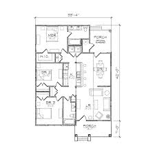 Centralized Floor Plan by Carolinian Ii Bungalow Floor Plan Tightlines Designs