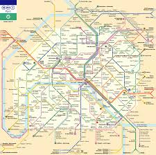 Gold Line Metro Map by Paris Metro Map Vs True Geometry Oc Dataisbeautiful