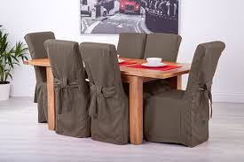 fabric chair covers attractive set of 4 slate grey fabric dining chair covers for