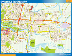 Mexico Wall Map World Wall Maps Store Springfield Downtown Map More Than 10 000