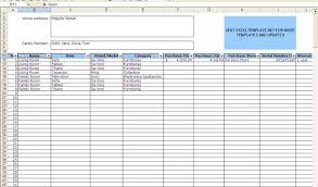 Free Inventory Spreadsheet Template Excel Stock Sheet Template Excel Excel Inventory