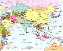 regional map of asia regional map of asia all world maps