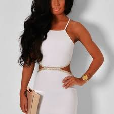 pink boutique dresses ethereal white embellished cut out midi from pink boutique