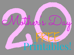Mother S Day Decorations Frugal Mom And Wife 20 Free Mother U0027s Day Printables