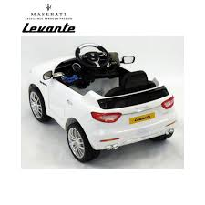 levante maserati white maserati levante 6v electric kids ride on car with remote control
