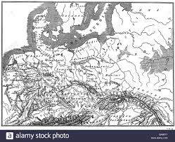 germania map cartography historical maps ancient world germania at the time