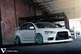 mitsubishi evo interior custom varrstoen es1 wheels tiffany blue centers carros pinterest