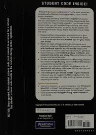 masteringchemistry with pearson etext valuepack access card