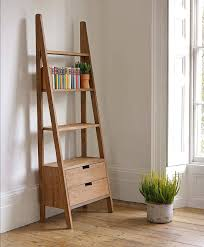 white ladder bookcase with drawers library 10 free shipping today