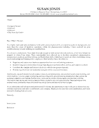 sample sales professional cover letter business development and