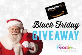 gift card amazon black friday black friday giveaway 50 gift card to amazon com u2022 hip foodie mom