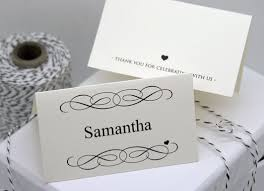 25 best printable place cards ideas on print your own