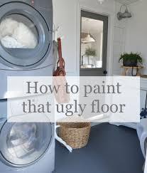 when it s to paint your floor
