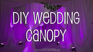How To Make A Chuppah How To Setup A Diy Wedding Canopy Or Chuppah Youtube