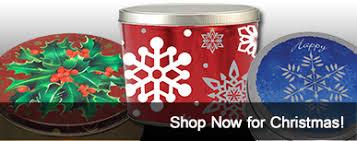 christmas tins wholesale holidaytins