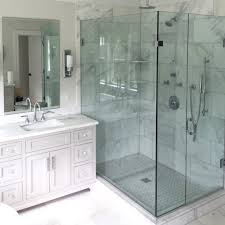 trackless shower doors frameless shower doors sleek showering frameless shower doors