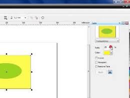 membuat gambar transparan di corel draw x7 how to make an object transparent in corel draw youtube