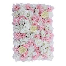Home Floral Decor Upscale Artificial Flower Wall Panel Home Shop Wedding Floral