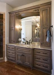 bathroom cabinets framed molding for mirror in bathroom for