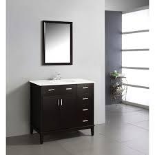 Home Depot Bathroom Vanity 36 by Simpli Home Urban Loft 36 In Vanity In Espresso Brown With Quartz
