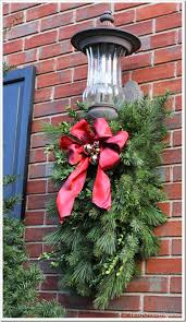 Christmas Decorations Outdoor Images by Diy Christmas Porch Light Decoration In My Own Style