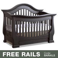 Davenport Convertible Crib Baby Appleseed Davenport 3 In 1 Convertible Crib In Slate Free