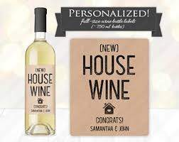 custom housewarming gift label just got real printable