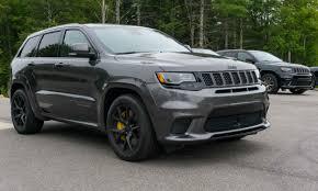 sema jeep grand cherokee 2018 jeep grand cherokee trackhawk first drive review autonxt