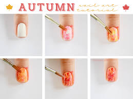 easy step by step fall nail tutorials fashionsy