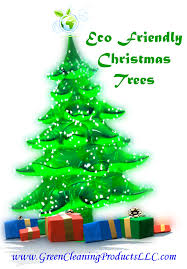 eco friendly christmas tree shared by green cleaning products