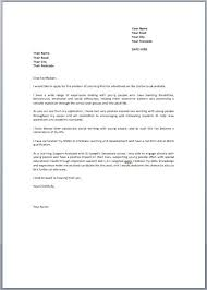 job application covering letter uk cover letter job application