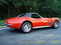 1970s corvette for sale 1970 corvette convertible with removable hardtop covered in vinyl