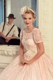 luxury wedding dresses for young pink wedding dress vintage