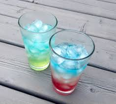 layered rainbow shots layered soft drinks 3 steps with pictures