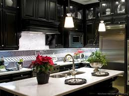 black and white design kitchen backsplash tile kitchen design 2017