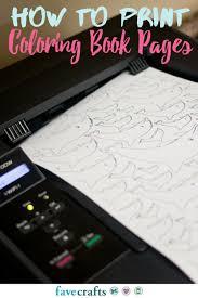 print coloring book pages favecrafts