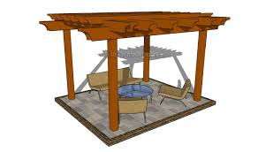 2 post pergola plans myoutdoorplans free woodworking plans and