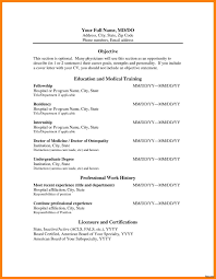 curriculum vitae format sle doctor medical curriculum vitae templates resume template doctor
