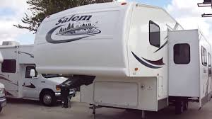 2005 salem 24bhss 5th wheel travel trailer youtube