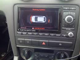 audi a3 rns e satellite navigation unit automotive gadgets