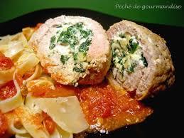 cuisiner noix de veau escalopes farcies au fromage et aux noix péché de gourmandise