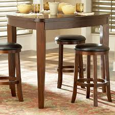 Ashley Furniture Glass Dining Sets Furniture Triangle Dining Table With Benches Palm Triangular