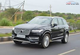 brand new volvo 2016 volvo xc90 road test review gaadiwaadi com